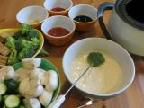 Beer Battered Vegetables And New Years EveFondue