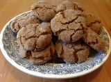Chewy and Crispy Ginger Cookies
