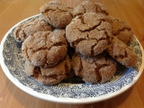 Chewy and Crispy GingerCookies