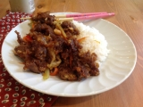 CGY Takeout Style Ginger Beef
