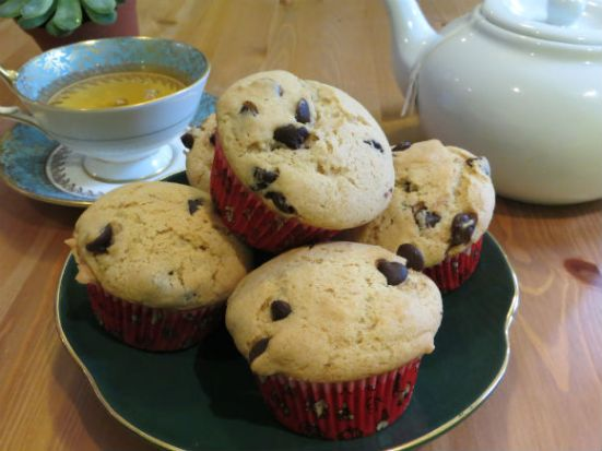 Header - Chocolate Chip Muffins