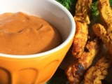 Spicy and Sweet Chicken Satay